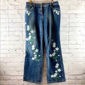 I.N.C International Petite jeans embellished